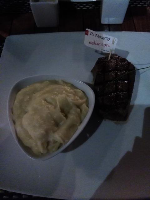 The Meat Co. テンダーロインステーキ マディナ・ジュメイラ