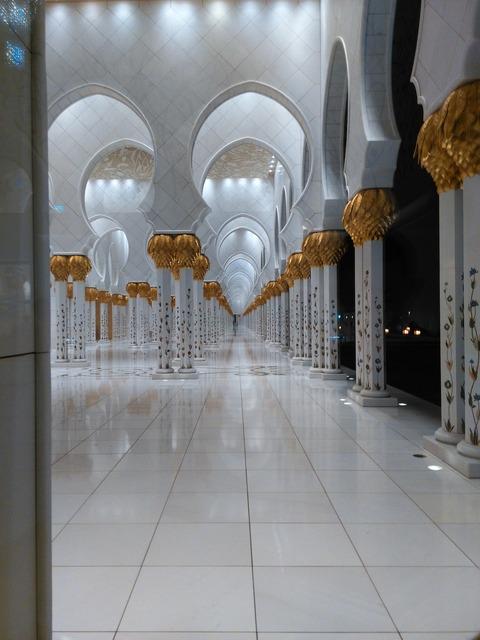 シェイク・ザイード・グランド・モスク アブダビ _20151230_202437