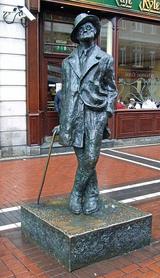 James Joyce on Talbot Street