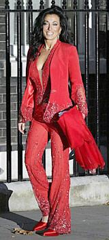 ナンシー。これから首相に会うところ。