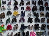 それぞれの靴。