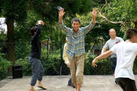 ダンスwith世田谷表現クラブ@芦見谷芸術の森で