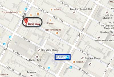 Sonic Yoga map