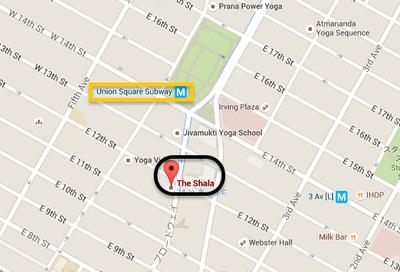 shala yoga map