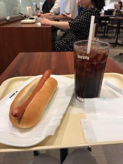 ドトールコーヒーショップ 大阪駅前第一ビル店。