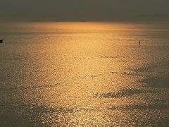 海、夕暮れ
