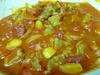 牛スジのトマト煮込み379