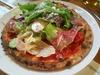 プロシュートと生野菜のピザ(オールドヒッコリー)