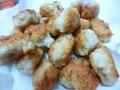 鶏ひき肉と豆腐のカラアゲくん