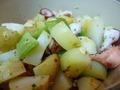 ポテトとタコのサラダ