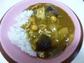 茄子とヒヨコ豆のカレー