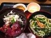 鰹丼と潮彩うどん(大戸屋)
