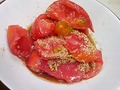 ちぎりトマトのナムル
