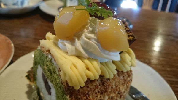 DSC_ケーキ&お茶