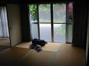 「貸別荘 とくなが荘」旧館の部屋