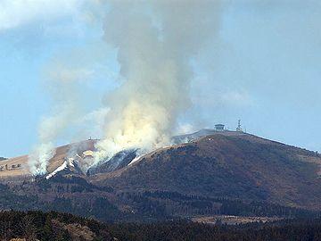 噴火っぽい寒風山