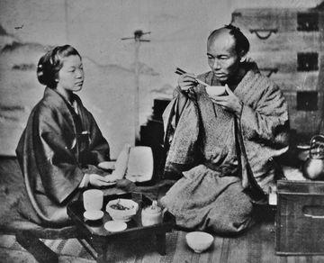 1863(文久3)年、ベアト撮影