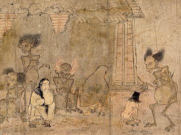日本史の挿絵って怖いじゃないですか