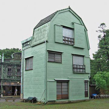 『植村邸』を、裏側から撮った画像