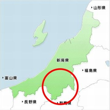 新潟県の形を魚に例えると