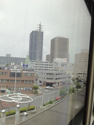 高層ビルが見えます