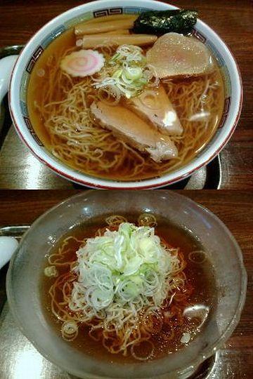 """秋田市民市場『しな蕎麦 伊藤』で食べた""""ラーメン""""と""""そのまんま冷やし"""""""