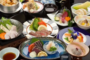 桂浜荘・料理