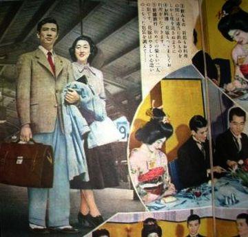 新婚旅行で、日本のフェリーに乗る人は、あまりいないでしょう