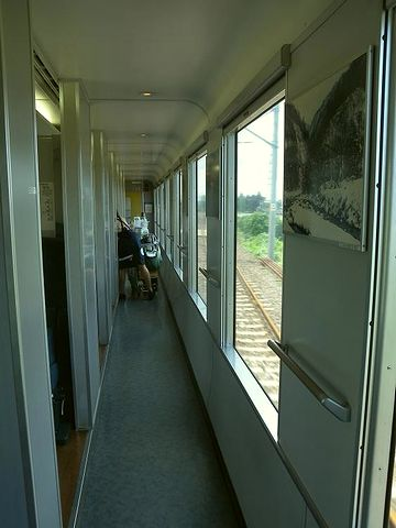 寝台列車みたい
