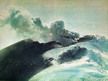 鳥海山の噴火?