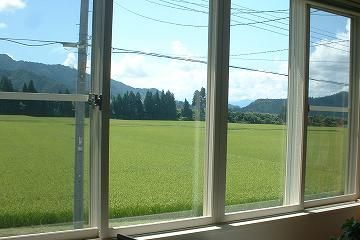新潟県南魚沼市。8月終わりの風景。