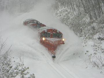 雪でも遅れないシステムを作れってんだ