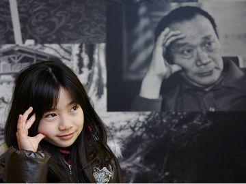 『川崎市岡本太郎美術館』女の子が可愛かったので載せてみました。
