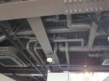 待合所の天井