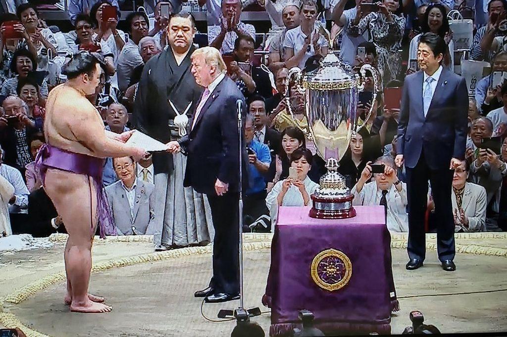 ちょっとだけ、トランプ大統領が高い