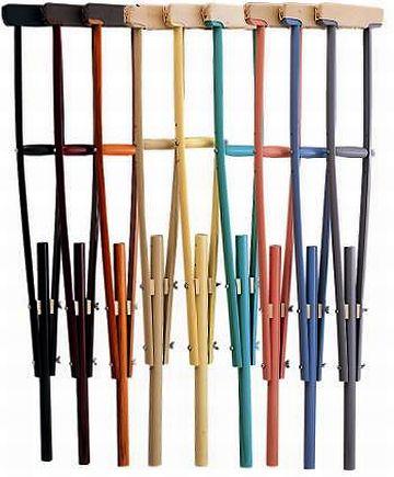 こんな松葉杖が使えるなら……。骨折ってみてもいい?