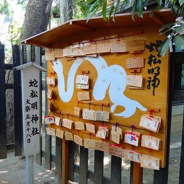 蛇松明神社の話だよ