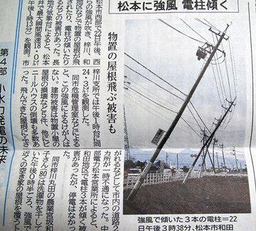反対側から風が吹いたら、柱が傾きかねないでしょ