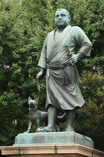 上野公園の西郷隆盛が、着物を着てるわけ