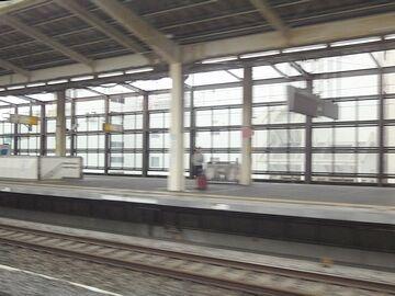 熊谷駅を通過