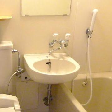 バスルームの洗面ボウル