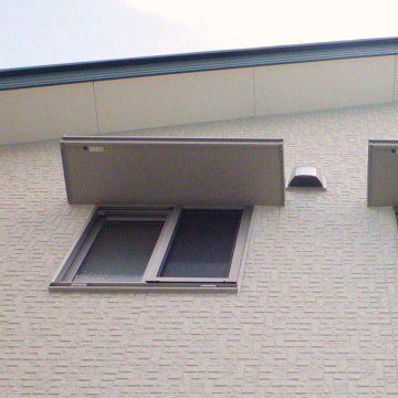 この窓の真下までヘデラが登ってきて、花盛りになってるのです