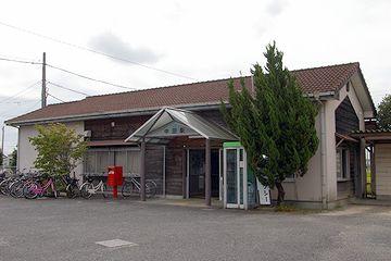 牟岐線(むぎせん)『中田駅』