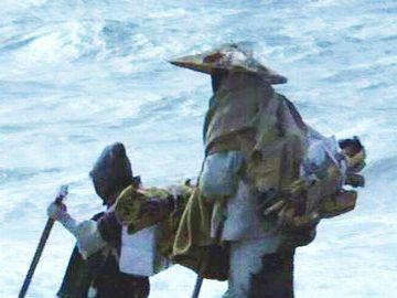 映画『砂の器』の1シーン
