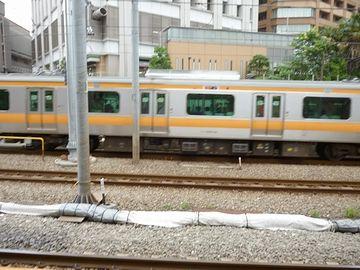 電車が見えました