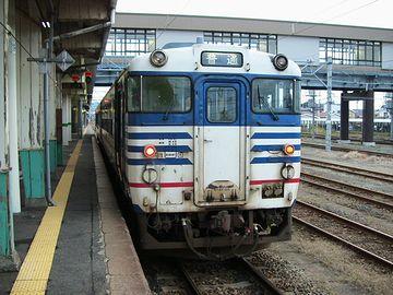 『新津駅』磐越西線ホーム