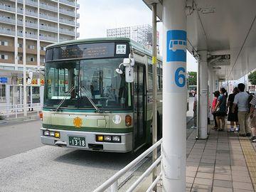 えーっと、このバスでいいのかな?