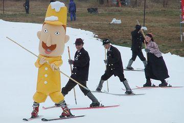 レルヒ少佐が、スキーを伝えた所