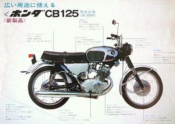 ホンダCB125