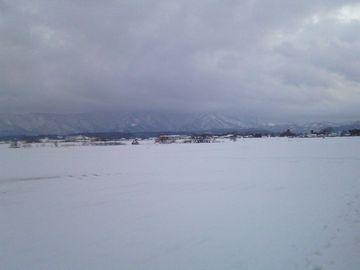 新潟の冬景色